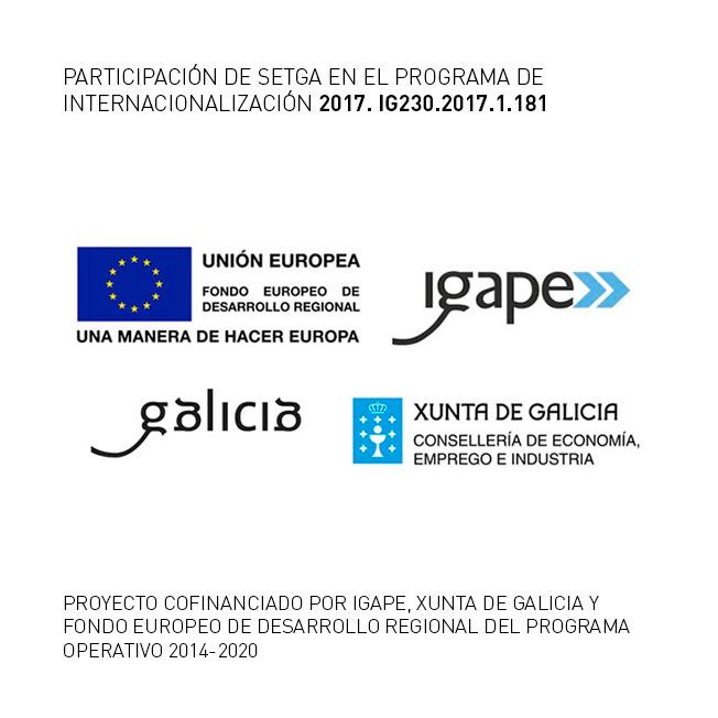 PARTICIPACIÓN DE SETGA EN EL PROGRAMA DE INTERNACIONALIZACIÓN 2017. IG230.2017.1.181