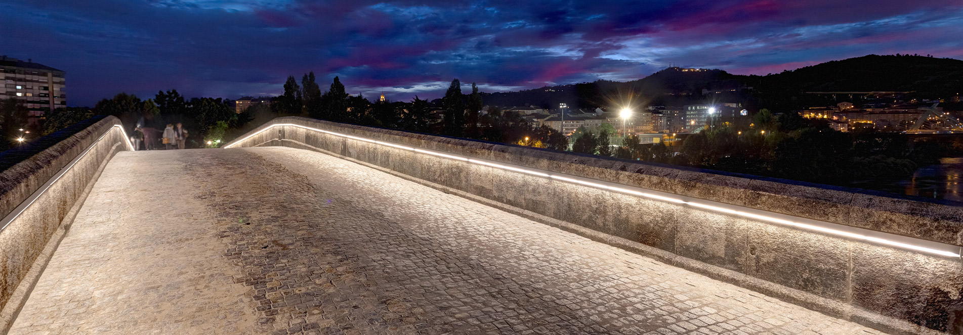OURENSE ROMAN BRIDGE LIGHTING