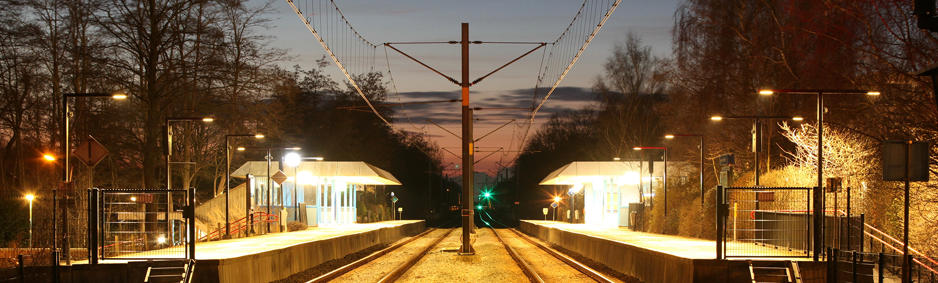 LIGHTING UP THE TRACKS OF THE DUTCH RAILWAYS