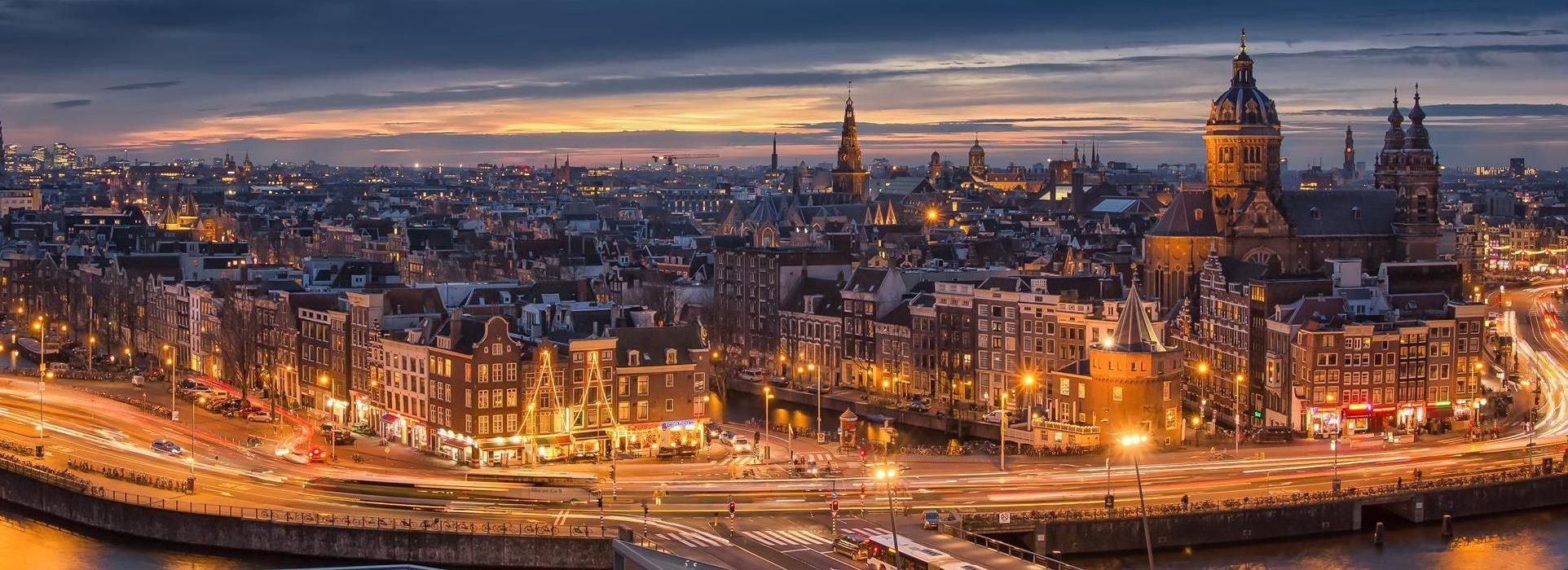 Renovación del alumbrado público de la capital holandesa